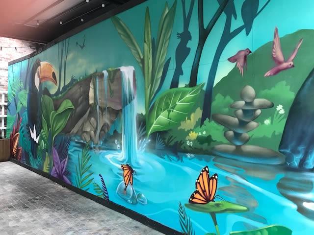 Mural Hoarding Design