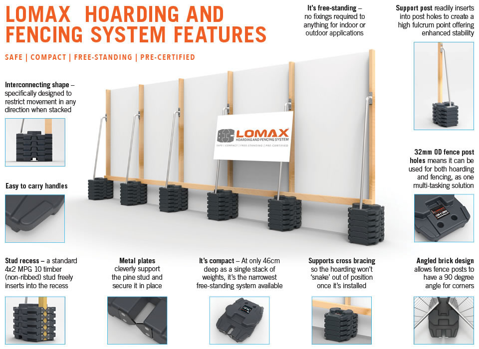 lomax hoarding features